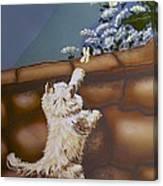 Fluff And Flutter Canvas Print