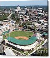 Fluor Field At The West End Greenville Canvas Print