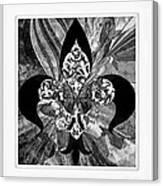 Flure De Lis Canvas Print