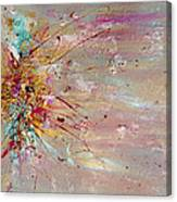 Fly Away Abstract Painting Canvas Print