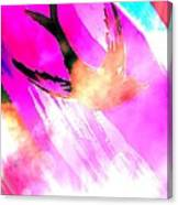 Fly Away Home Abstract Canvas Print