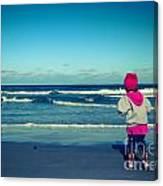 Beach Play Canvas Print