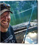 Fly Fishing Emerald Lake, Weminuche Canvas Print