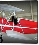 Flying Bear  Canvas Print
