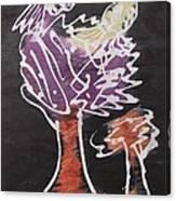 Flying Birds On The Big Tree Canvas Print
