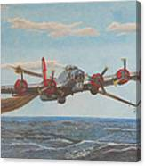 Coming Home - Boeing B-17 Flying Fortress Canvas Print