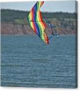 Flying Kite Canvas Print