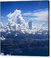 Flying Over Clearwater Canvas Print