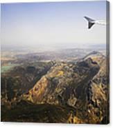Flying Over Spanish Land I Canvas Print