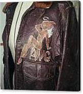 Flying Tiger Jacket Art Canvas Print