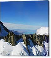 Flying To Fox Glacier #2 Canvas Print