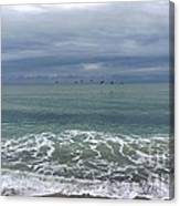 Flying Weather Canvas Print
