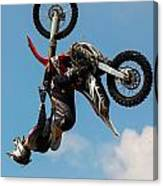 Fmx Backflip Canvas Print