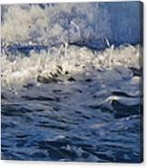 Foamy Brine Canvas Print