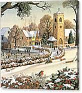 Focus On Christmas Time Canvas Print