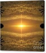 Focus On His Light Canvas Print