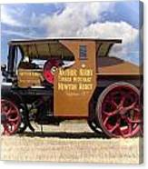 Foden Tractor Canvas Print