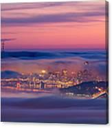 Fog City - San Francisco Canvas Print