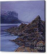 Fog Over The Bay Canvas Print