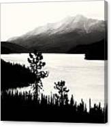 Fog Over The Mountain Canvas Print