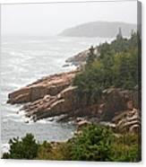 Fog Over The Sea  Canvas Print