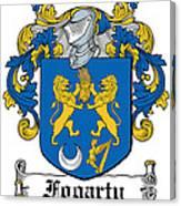Fogarty Coat Of Arms Irish Canvas Print