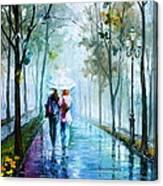 Foggy Day New Canvas Print