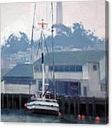 Foggy Day San Francisco Canvas Print