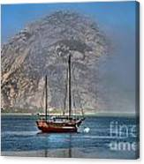Foggy Morrow Bay Canvas Print