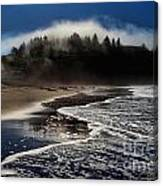 Foggy Pacific Reflections Canvas Print