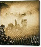 Foggy Tuscany Canvas Print