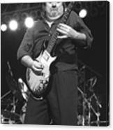 Foghat Guitarist Rod Price Canvas Print