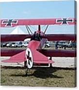 Fokker Dr.i Canvas Print