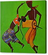 Folk Dance Canvas Print