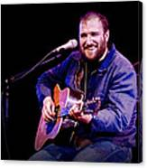 Folk Musician David Bazan In Concert Canvas Print