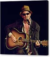Folk Singer Greg Brown Canvas Print