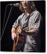 Folk Singer Griffen House Canvas Print