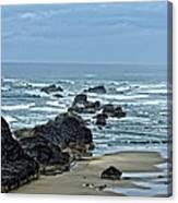 Follow The Ocean Waves Canvas Print