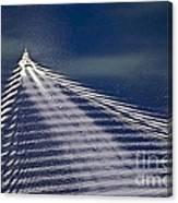 Following The Wake Canvas Print