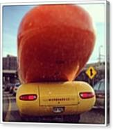 Following The Weinermobile Canvas Print