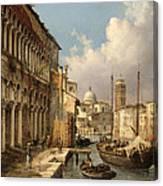 Fondaco Dei Turchi Canvas Print