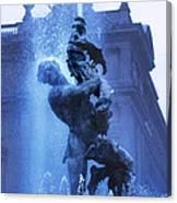 Fontana Delle Naiadi Canvas Print