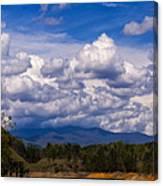 Fontana Lake Storm 2 Canvas Print