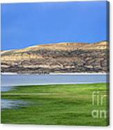 Fontenelle Reservoir Summer Thunderstorm  Canvas Print