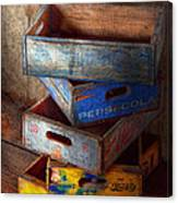 Food - Beverage - Pepsi-cola Boxes  Canvas Print