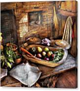 Food - The Start Of A Healthy Meal  Canvas Print