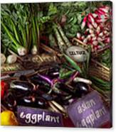 Food - Vegetables - Very Fresh Produce  Canvas Print