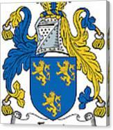 Foord Coat Of Arms Irish Canvas Print