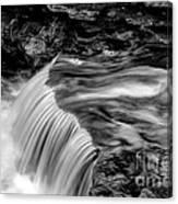Foot High Falls Canvas Print