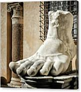 Foot Of Constantine Canvas Print